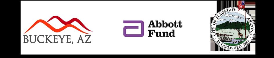 Buckeye-Abbott Fund-Flagstaff logos